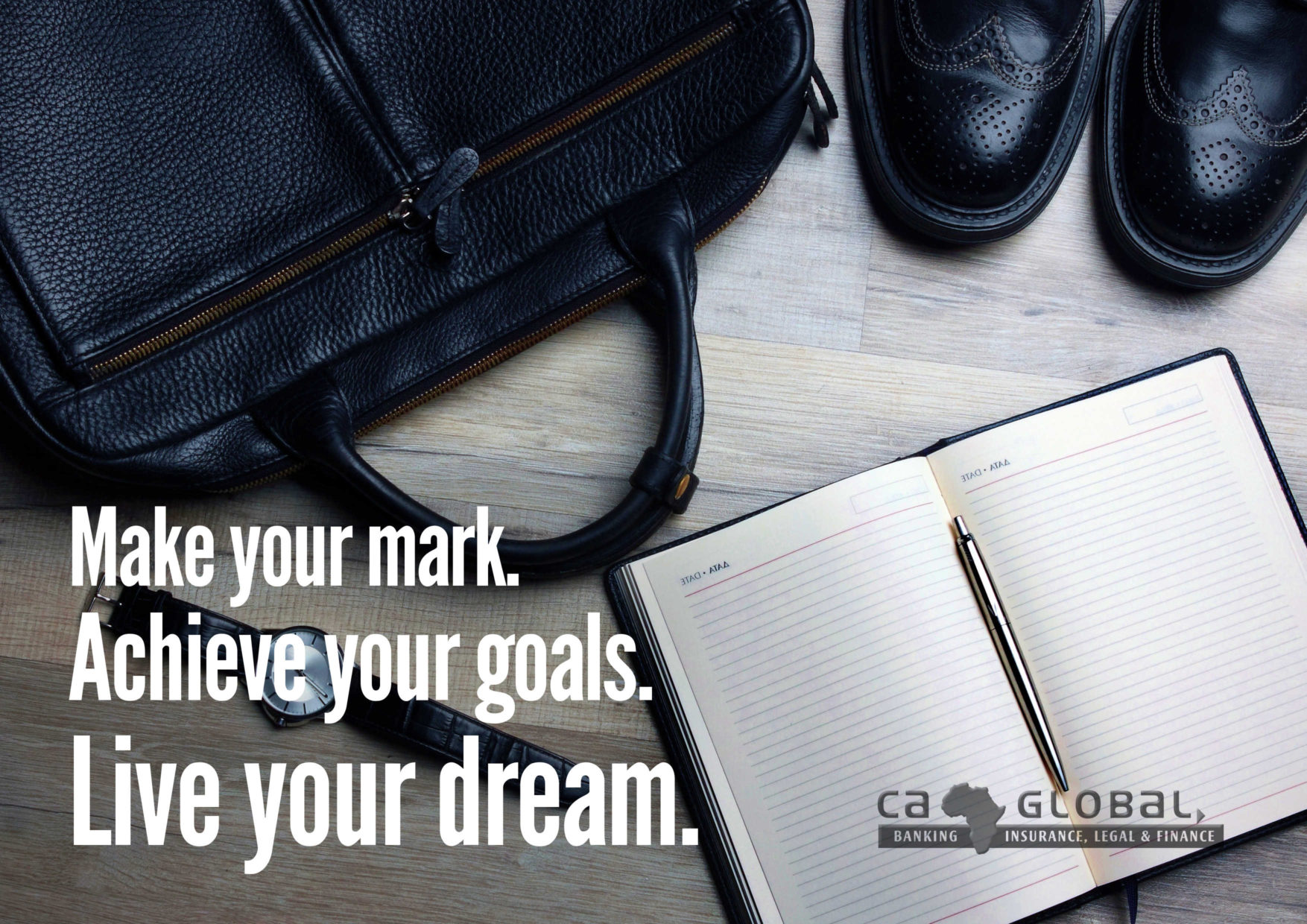 Make Your Mark. Achieve Your Goals. Live Your Dream   Finance Jobs Africa