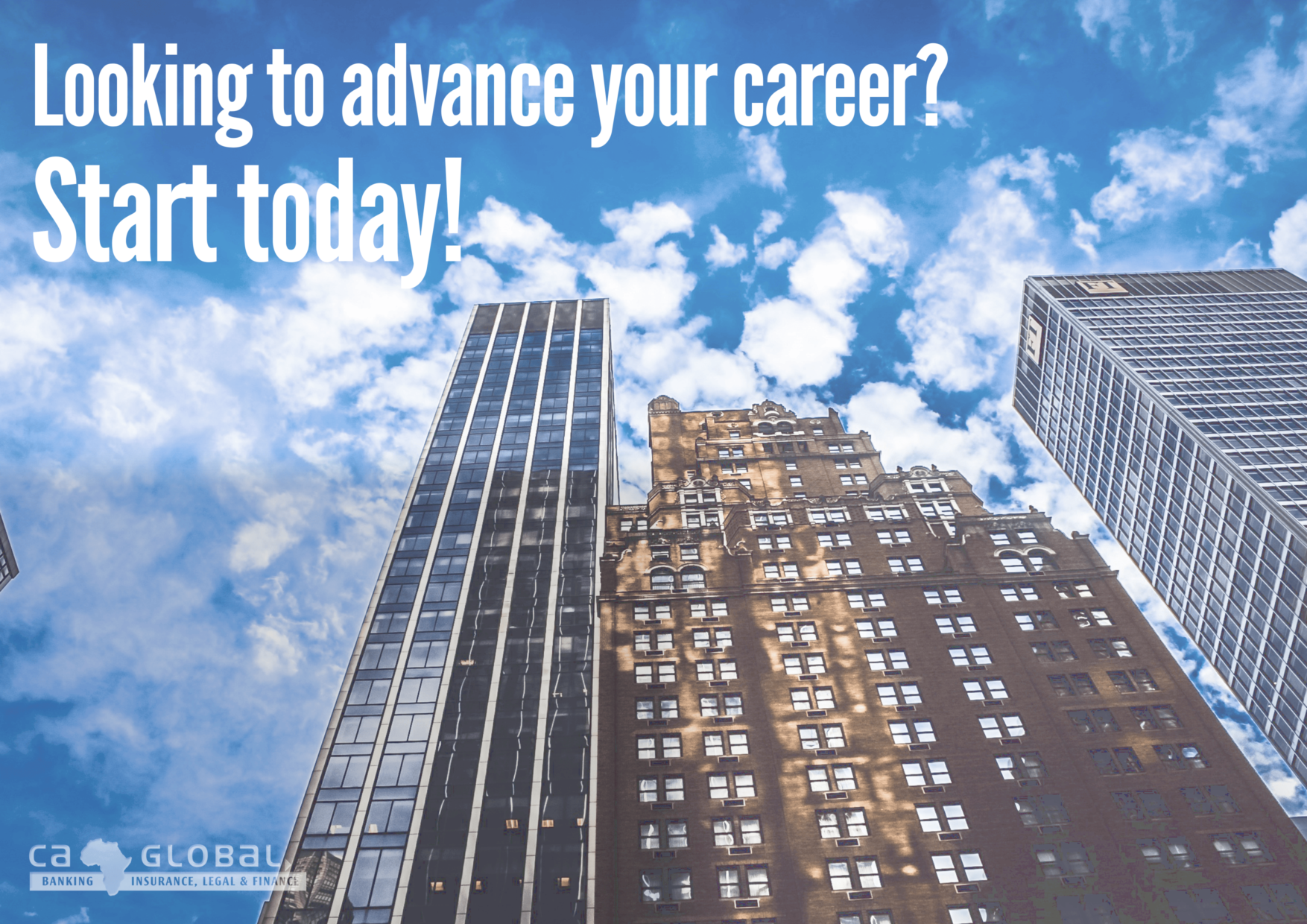 Looking to Advance Your Career? Start Today! Finance Jobs Africa